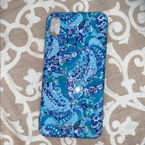 Lilly Pulitzer iPhone X max case